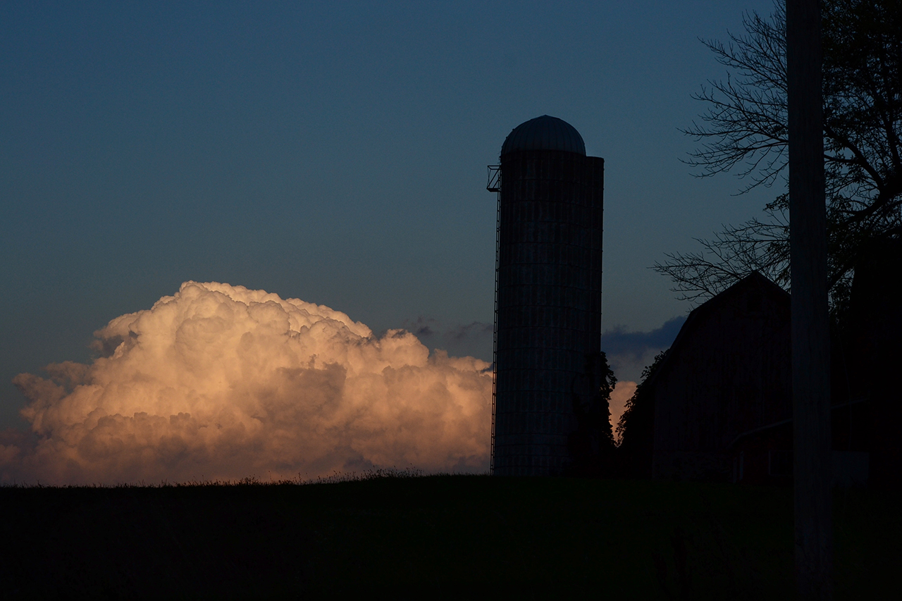 Storm Clouds in Ontario County (photo)