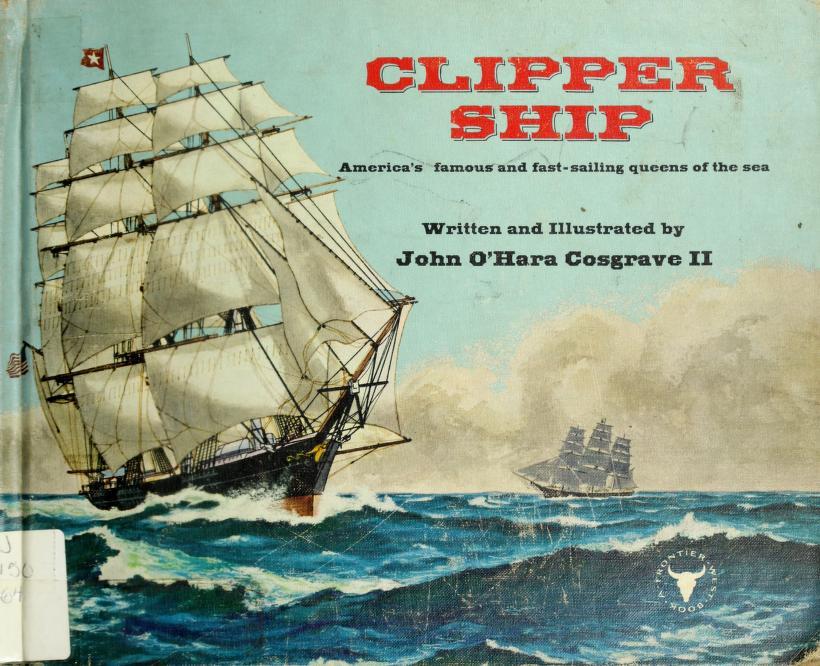 Clipper ship by John O'Hara Cosgrave