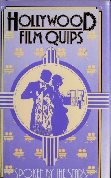 Hollywood film quips by Susan Teltser-Schwarz