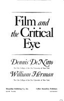 Film and the critical eye by Dennis DeNitto